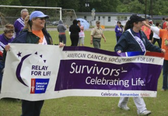 Rain no match for Relay for Life