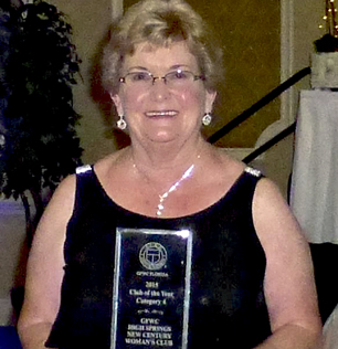 Q - High Springs Womans Club Award Spc To