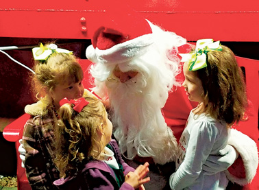 Waldo - Santa at the Waldo Caboose.2
